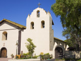 Old Mission Santa Ines  Solvang  Santa Barbara County  Central California
