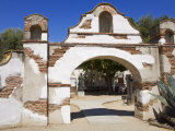 Entrance to Mission San Miguel Arcangel  San Miguel  California