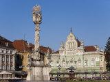Unirii Square  Timisoara  Romania  Europe