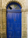 Ancient Door  Old City  UNESCO World Heritage Site  Essaouira  Morocco  North Africa  Africa