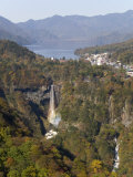 Chuzenji Lake and Kegon Falls  97M High  Nikko  Honshu  Japan