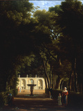 Villa Borghese  Rome  1810