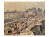 Pont Neuf - Brouillard  1902