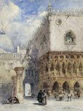 The Doge's Palace and the Piazzetta  Venice