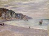 Les Falaises a Pourville  1882