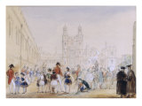 The School Yard  Eton  1846