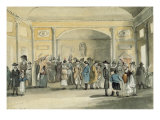 The Pump Room  Bath  1796