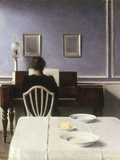 Interior with a Girl at the Clavier  1901