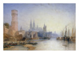 The Rhine at Cologne  1891