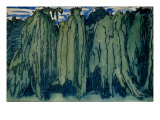 A Forest: A Design for a Curtain  1914