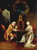 The Chess Game  1881