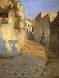 A Street Scene in Tunisia  1891
