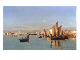 A View of the Venetian Lagoon