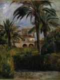 Le Jardin d'Essai a Alger  1882