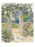 La Porte du Jardin  Vetheuil  1881