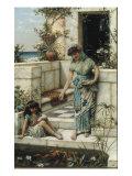 Feeding the Goldfish  1888
