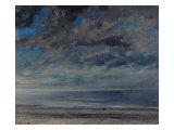 La Plage  Soleil Couchant  1867