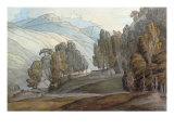 The Vale of St John  Cumberland  1786