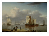 Shipping off the Coast  1790