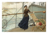 A Scottish Lady on a Boat Arriving in New York