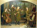 The Home Quartett  1882 (MrsVernon Lushington and her daughters)
