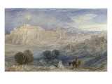 Bethlehem - The Flight into Egypt  c1833-1836