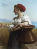 Moissoneuse' or 'L'Italienne a la Fontaine'  1868