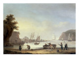 Teignmouth and the Ness  Devon  1825