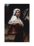 Young Italian Girl Drawing Water From A Well  1871