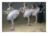 At the Barre  1888