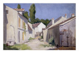 Un Chemin a Yerres  c1879