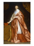 Portrait of Cardinal Richelieu