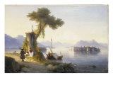 The Isola Bella on Lago Maggiore  1843
