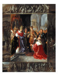 The Emperor Charles V Shown the Virgin's Robes