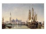The Island of San Giorgio Maggiore  Venice  1862