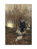 The Goose Maiden-Brittany  1881