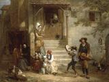 The Troubadors (Street musicians)  1842