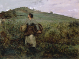 At Harvest Time  1880