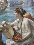 A Roman Boat Race  1889