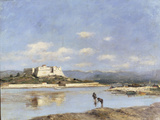 Antibes - Le Fort Carre  1893