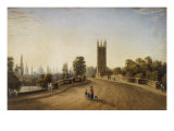 Magdalen Bridge  Oxford  1859