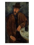 L'Homme au Verre de Vin  c1918-19
