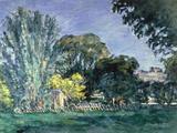Arbres au Jas de Bouffan  c1875-6