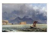 Storm Passing over Vesuvius  c1840-50