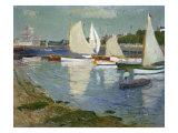 Le Port De L'Orient  1890