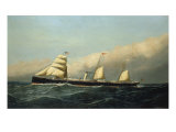 The Steam Ship Jan Breydel  1882