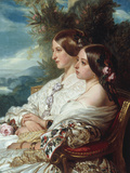 Queen Victoria and Victoire  Duchess de Nemours