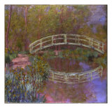 Le Pont Japonais Dans le Jardin de Monet