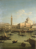 A Capriccio View of the Piazzetta with the Church of Il Redentore