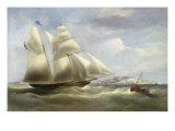 A Schooner off Dover  1834